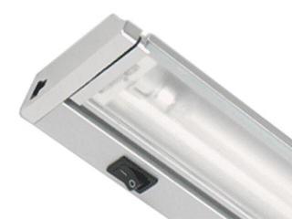 Listwa podszafkowa świetlówkowa ARIBA 8 2700K srebrna Brilum
