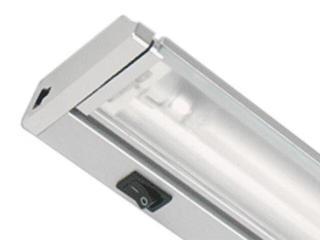 Listwa podszafkowa świetlówkowa ARIBA 8 6400K srebrna Brilum