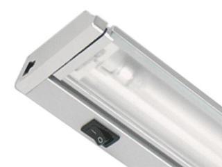 Listwa podszafkowa świetlówkowa ARIBA 13 2700K srebrna Brilum