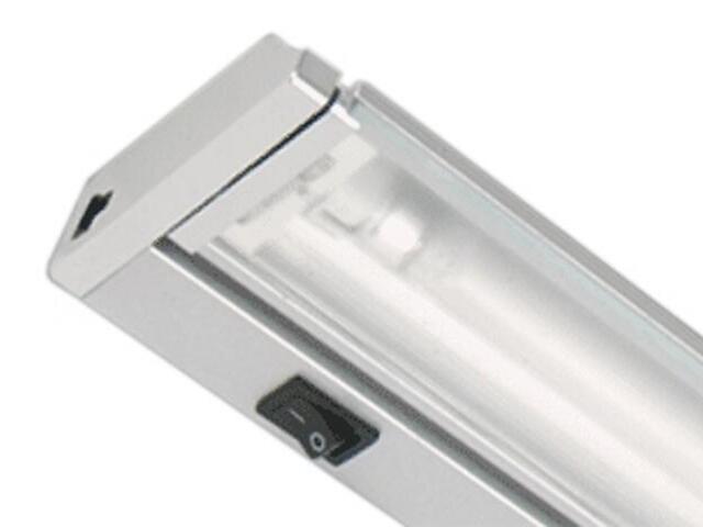 Listwa podszafkowa świetlówkowa ARIBA 13 6400K srebrna Brilum