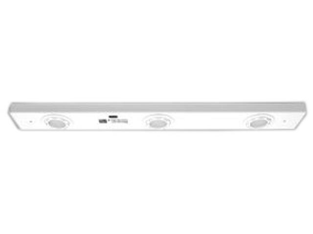 Listwa podszafkowa NESSO 30SD LED satynowy chrom Brilum