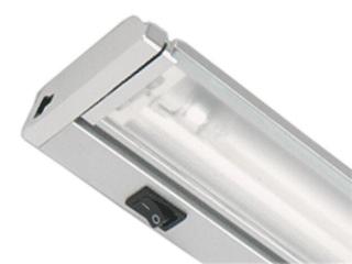 Listwa podszafkowa świetlówkowa ARIBA 21 2700K srebrna Brilum