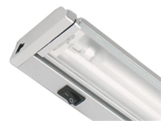Belka świetlówkowa podszafkowa ARIBA 21 6400K srebrna Brilum