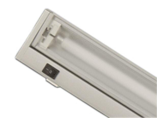 Listwa podszafkowa świetlówkowa ARIBA W24 2700K srebrna Brilum