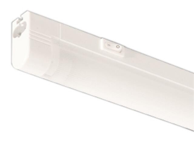 Listwa podszafkowa świetlówkowa WERA 28 4000K srebrna Brilum