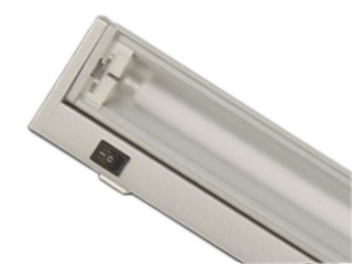 Listwa podszafkowa świetlówkowa ARIBA W39 2700K srebrna Brilum