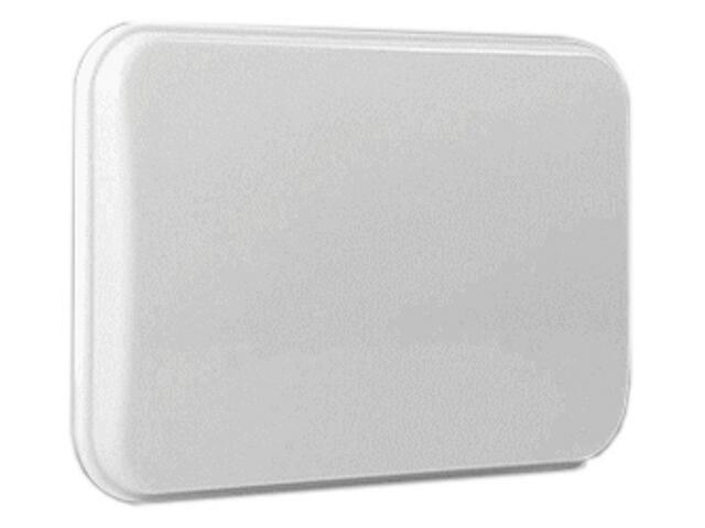 Plafon hermetyczny natynkowy PORTO biały Brilum