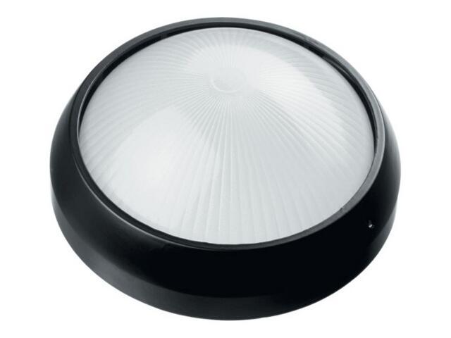 Plafon przemysłowy hermetyczny OMEGA 1x60W E27 03 11 czarny Lena Lighting