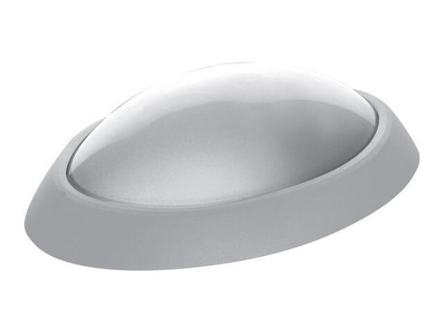 Plafon przemysłowy hermetyczny ELIPTIC 1x60W E27 biały klosz matowy PC Lena Lighting