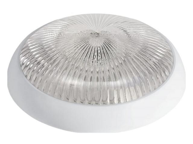 Plafon przemysłowy hermetyczny SATURN 1x38W 230V biały klosz pryzmatyczny Lena Lighting