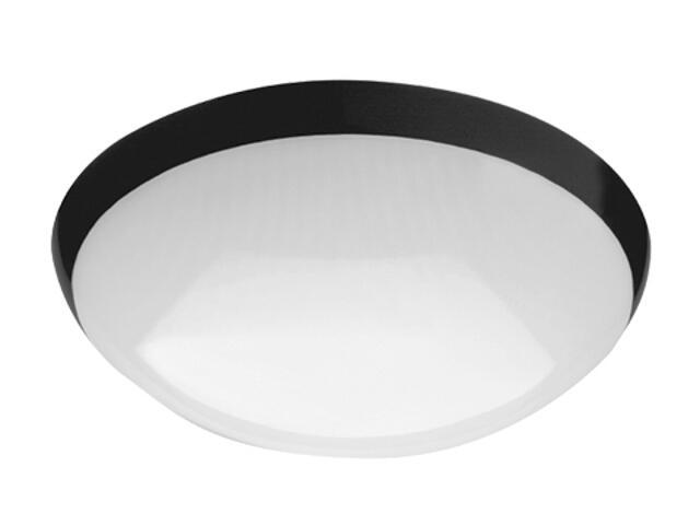 Plafon przemysłowy hermetyczny CAMEA 1x75W E27 czarny klosz matowy Lena Lighting