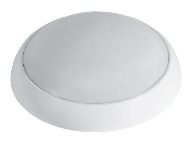 Plafon przemysłowy hermetyczny SATURN 1x18W 230V KVG biały klosz matowy Lena Lighting