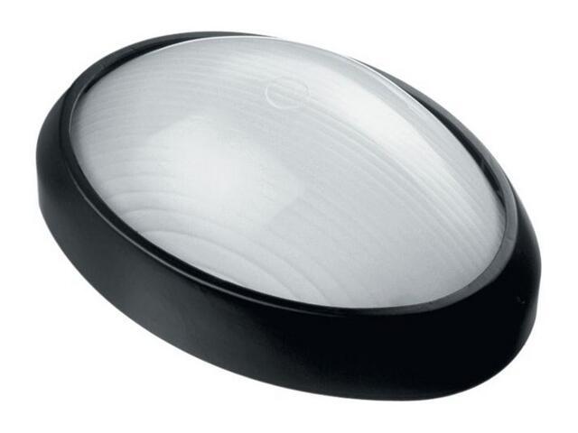 Plafon przemysłowy hermetyczny SIGMA 1x100W E27 czarny Lena Lighting