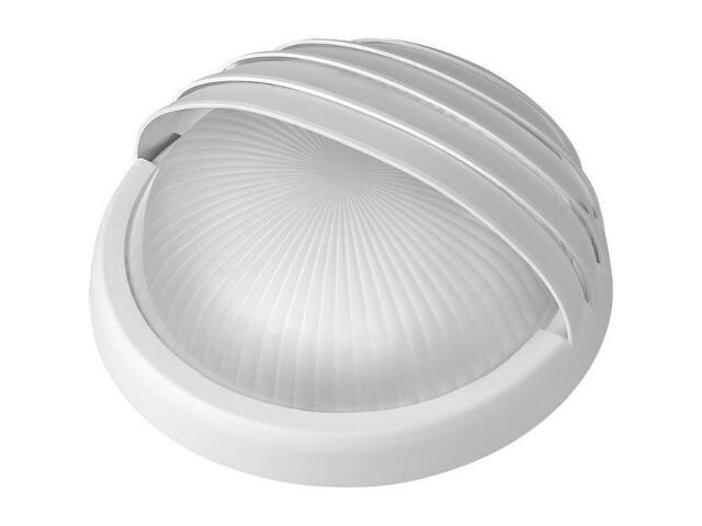 Plafon przemysłowy hermetyczny LUNA z przesłoną -N 1x75W E27 biały klosz matowy Lena Lighting