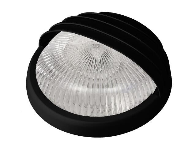Plafon przemysłowy hermetyczny LUNA z przesłoną -N 2x9W G23 czarny Lena Lighting