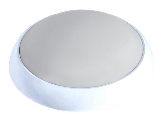 Plafon przemysłowy hermetyczny SATURN 2x18W 230V srebrny klosz matowy Lena Lighting