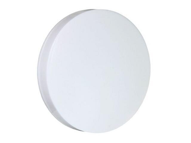 Plafon przemysłowy hermetyczny CIRCLE 1x9W G23 230V KVG klosz mleczny Lena Lighting