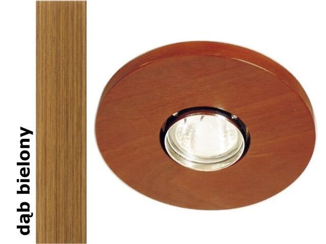 Oprawa punktowa sufitowa OCZKO koło dąb bielony wersja żarowa 1199O1E208 Cleoni