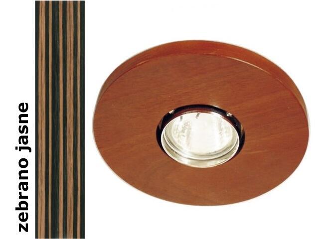 Oprawa punktowa sufitowa OCZKO koło zebrano jasne wersja żarowa 1199O1E207 Cleoni