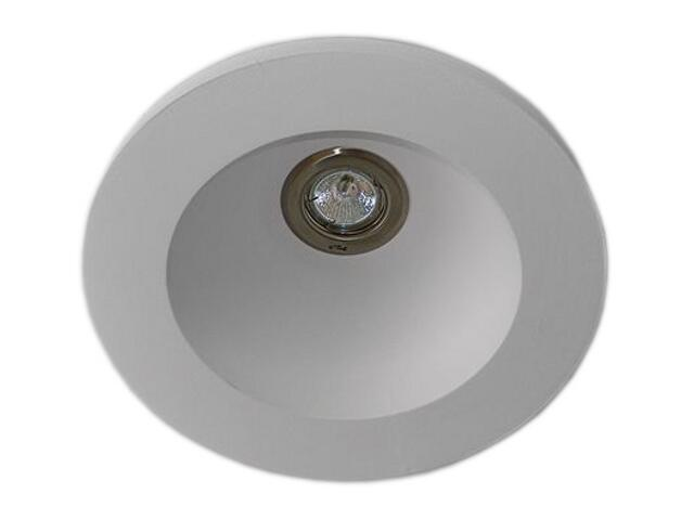 Plafon LUCKA B biały 9676B Cleoni