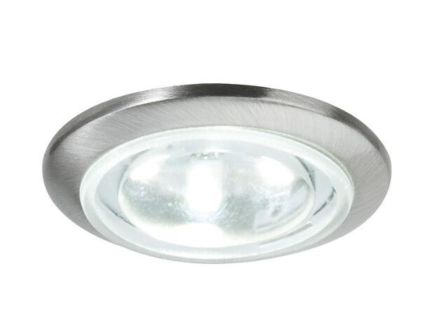 Oprawa punktowa sufitowa Mini EBL LED okrągła zest 5x0,5W żelazo sat z zasilaczem Paulmann