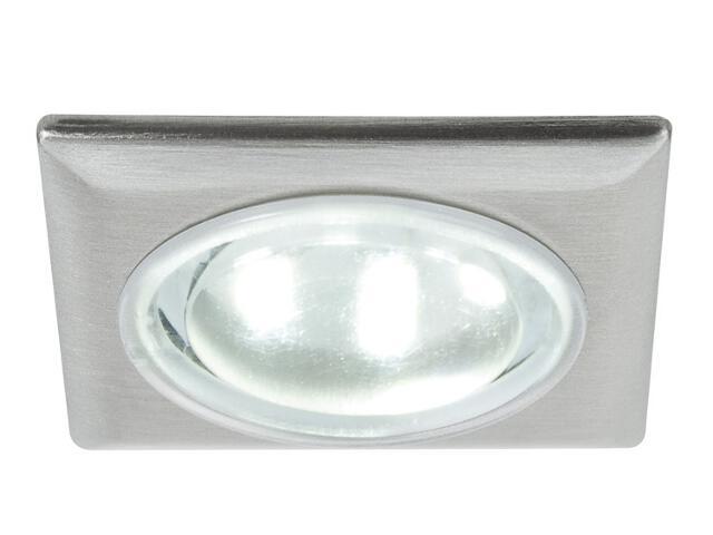 Oprawa punktowa sufitowa Mini EBL LED kwadrat zest 5x0,5W żelazo sat Z zasilaczem Paulmann