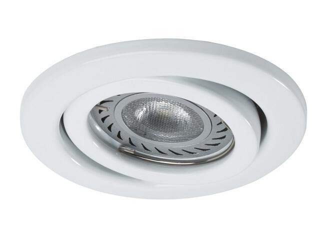 Oprawa punktowa sufitowa zestaw LED 3x3,5W GU10 biały z żarówkami Paulmann