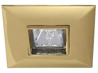Oprawa punktowa Premium Line Quadro wychylna złota Paulmann