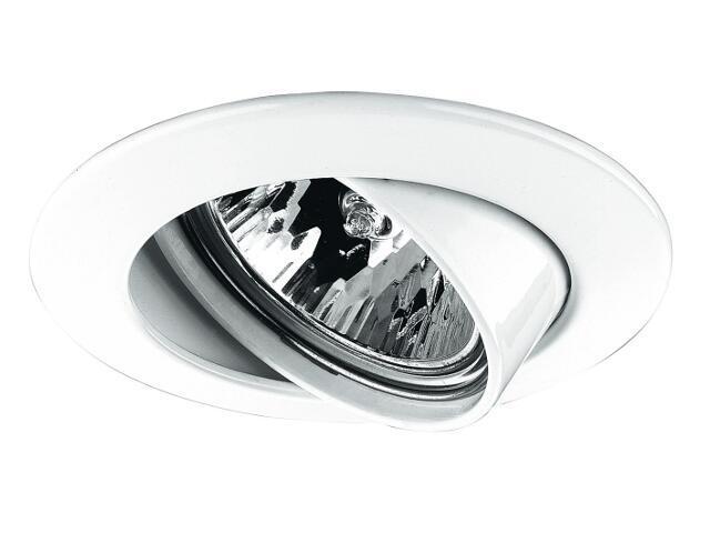 Oprawa punktowa sufitowa Premium Line wychylna 65mm biała Paulmann