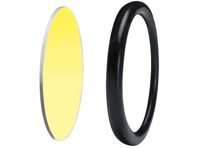 Oprawa punktowa Disco-szybka ochronna z pierścieniem dekoracyjnym żółta Paulmann