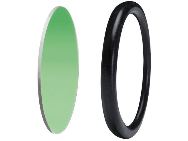 Oprawa punktowa Disco-szybka ochronna z pierścieniem dekoracyjnym zielona Paulmann