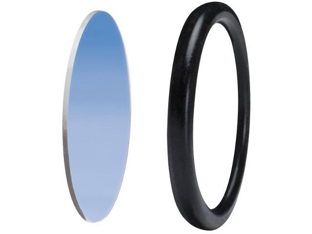 Oprawa punktowa Disco szybka ochronna z pierścieniem dekoracyjnym niebieska Paulmann