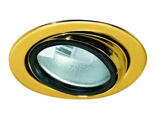 Oprawa punktowa Micro Line wysokogatunkowa wychylna 3x20W złota Paulmann
