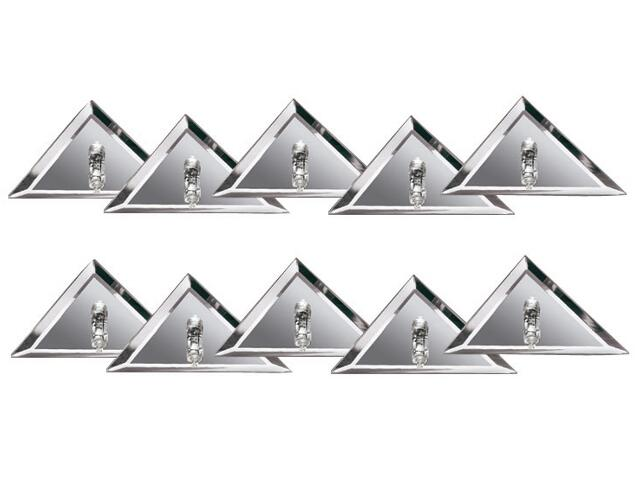 Oprawa punktowa Star Line Mirror Triangel 10x10W srebrna Paulmann