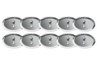 Oprawa punktowa Star Line Mirror Rondo 10x10W srebrna Paulmann