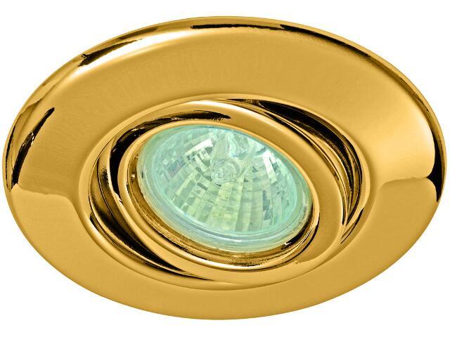 Oprawa punktowa Quality Line wychylna fi 35mm złota Paulmann