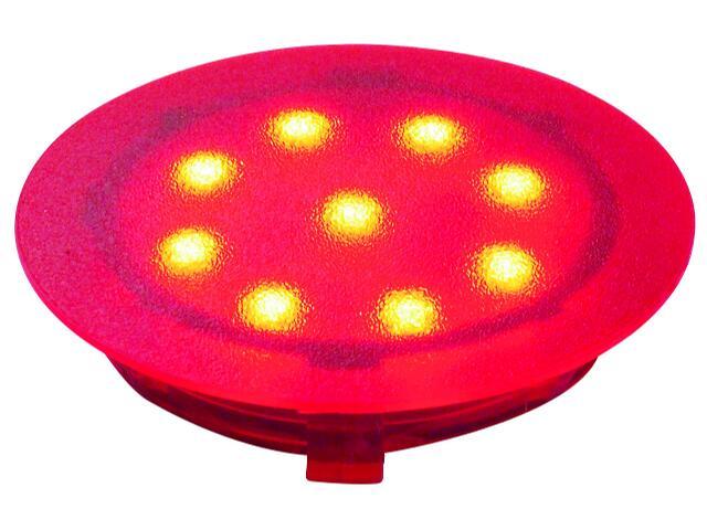 Oprawa punktowa Profi Line UpDown Mini LED 1x1W czerwona Paulmann