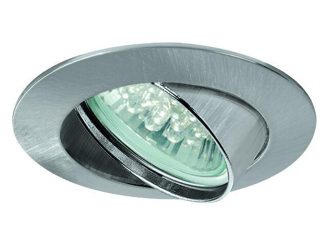 Oprawa punktowa sufitowa Premium Line LED 1x1W GU10 żelazo satyna Paulmann