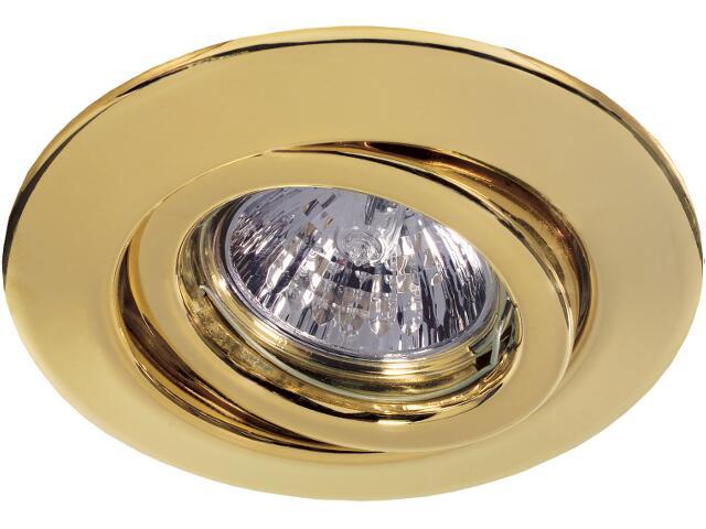 Oprawa punktowa Quality Line 6x35W ruchoma GU53 złota Paulmann