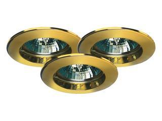 Oprawa punktowa Premium Line ZN-AL 3 szt. fi 35mm 3x35W złota Paulmann