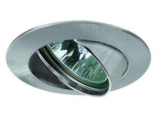 Oprawa punktowa sufitowa Premium Line z odlewu aluminium 6x35W ruchoma żelazo satyna Paulmann