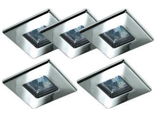 Oprawa punktowa sufitowa Quality Line TIP Quadro 5 szt. 5x20W chrom Paulmann