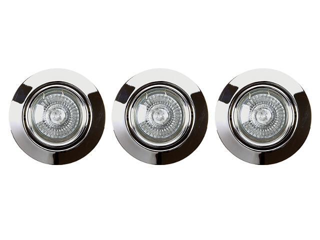 Oprawa punktowa sufitowa Cristaldream GU10 50W 2000328 3szt Spot-light
