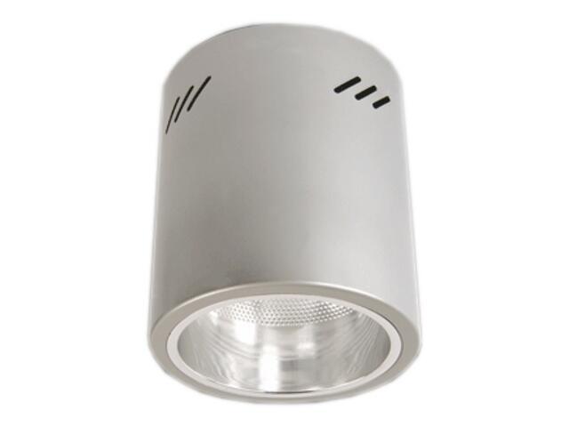 Lampa sufitowa z odbłyśnikiem R-4000T srebrna Brilum
