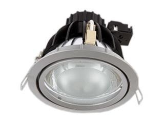 Oprawa downlight metalohalogenkowa 7907 biała Brilum