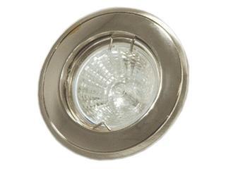 Oprawa punktowa sufitowa stała DL-36 srebrna satyna chrom Brilum