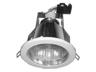 Oprawa downlight z odbłyśnikiem R-400NG srebrna Brilum