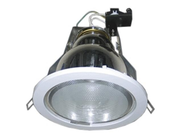 Oprawa downlight z odbłyśnikiem R-500NG biała Brilum