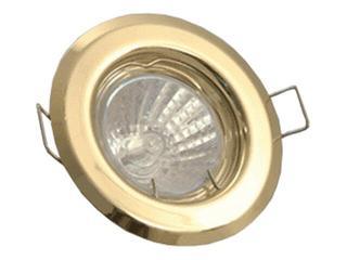 Oprawa punktowa stała ALPE 16 satynowy chrom Brilum