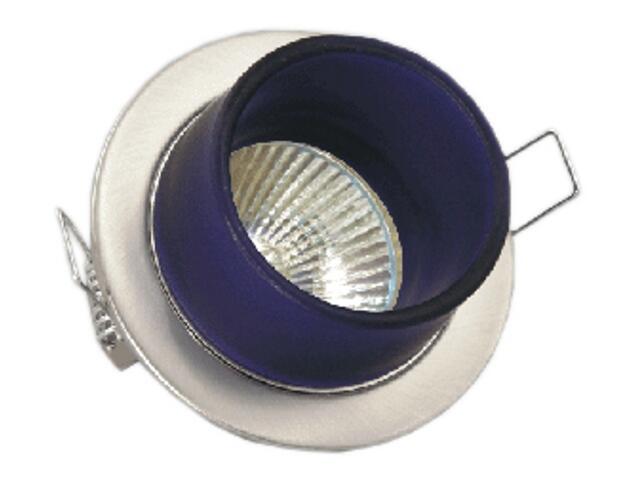 Oprawa punktowa stała CT-3L matowy chrom biała Brilum